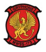 Marine Wing Support Squadron MWSS-173 Patch