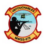 Marine Wing Support Squadron MWSS-272 Patch