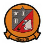 Marine Headquarters and Headquarters Squadron H&HS-28 Patch