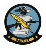 Marine Headquarters and Headquarters Squadron H&HS-37 Patch
