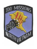 F-4 100 Missions North Vietnam Patch