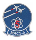 Marine Air Control Squadron MACS-5 Patch