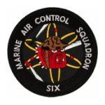 Marine Air Control Squadron MACS-6 Patch