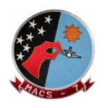 Marine Air Control Squadron MACS-7 Patch