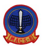 Marine Air Control Squadron MACS-8 Patch
