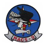 Marine Air Control Squadron MACS-9 Patch