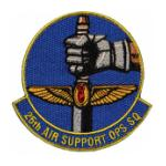 25th Air Support Operations Squadron Patch (Velcro)