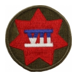 7th Army Corps Patch