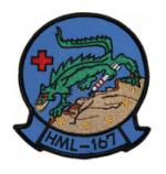 Marine Light Helicopter Squadron HML-167 Patch