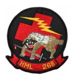 Marine Light Helicopter Squadron HML-268 Patch