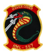 Marine Light Helicopter Squadron HML-367 Patch (HOVER COVER)