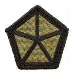 5th Corps Scorpion / OCP Patch With Hook Fastener