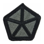 5th Corps Patch Foliage Green (Velcro Backed)