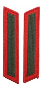 Marine Corps Service Stripes - Single (Red/Green)