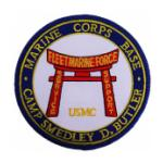 Marine Corps Base Camp Smedley D Butler Okinawa Patch