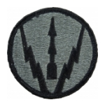 Air Defense School Patch Foliage Green (Velcro Backed)