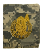 Army Recruiter Identification Badge ACU (Sew -on) (Gold)