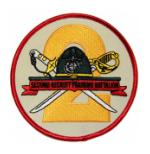 USMC Second Recruit Training Battalion Patch