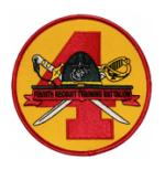 USMC Fourth Recruit Training Battalion Patch