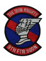 Air Force 9th Fighter Squadron Patch