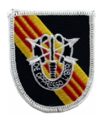 5th Special Forces Group Vietnam Flash w/ Insignia