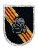 5th Special Forces Group Vietnam Flash w/Skull