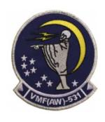 Marine All Weather Fighter Attack Squadron VMFA(AW)-531 Patch