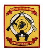 Camp Lejeune, NC Weapons Training Battalion Patch