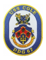 USS Cole DDG-67 Ship Patch