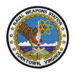 Naval Weapons Station Patches