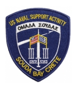 Naval Support Activity Patches