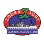 USNS Observation Island (Cobra Judy) Patch