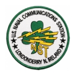Naval Communication Station Londonderry N. Ireland Patch