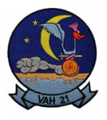 Navy Heavy Attack Squadron Patch VAH-21
