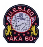 USS Leo AKA-60 Ship Patch