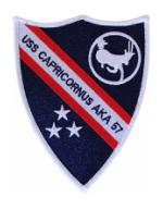 USS Capricornus AKA-57 Ship Patch