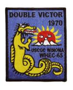 USCGC Winona WHEC-65 Double Victor 1970 Ship Patch