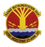 USNS Redstone T-AGM 20 Ship Patch
