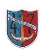 USS Neches AO-47 Ship Patch