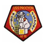 USS Procyon AF-61 Ship Patch