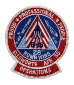 28th Bomb Wing Patch