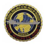 USS Wichita AOR-1 Ship Patch
