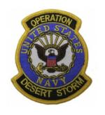 Operation Desert Storm Patch U.S. Navy