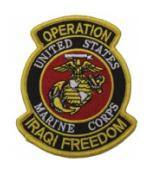 Operation Iraqi Freedom Patch U.S. Marine Corps