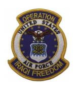 Operation Iraqi Freedom Patch U.S. Air Force