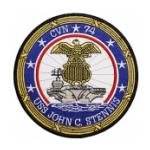 USS John C Stennis CVN-74 Ship Patch