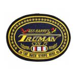 USS Harry S Truman CVN-75 Ship Patch