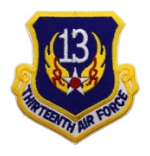 Thirteenth Air Force Patch