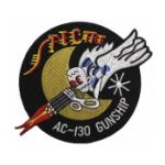 16th Special Operations Squadron AC-130 Gunship SOS Spectre Patch
