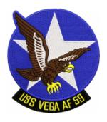 USS Vega AF-59 Ship Patch